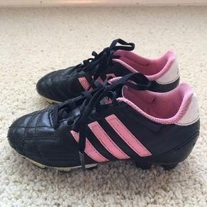 Little girls soccer/softball cleats